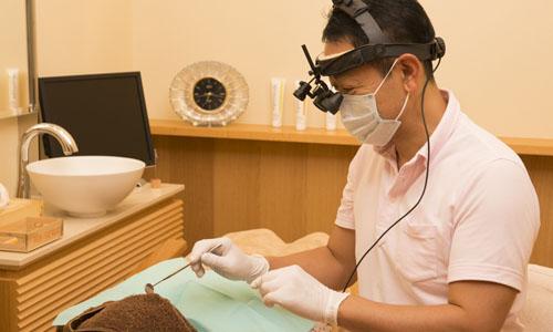 精密な虫歯治療